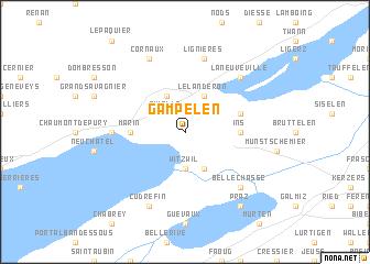map of Gampelen