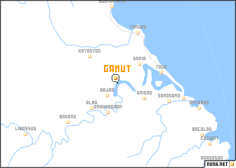 map of Gamut