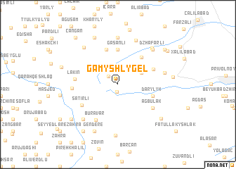 map of Gamyshlygël'