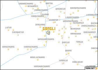 map of Gangli