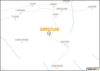 map of Gangzijie