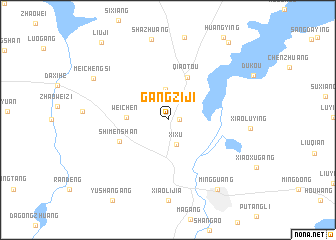 map of Gangziji