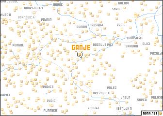 map of Ganje