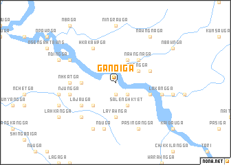 map of Ganoi Ga