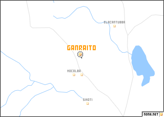 map of Ganraito