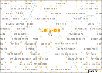 map of Gansaria