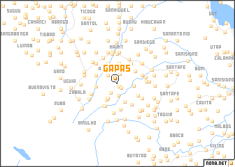 map of Gapas