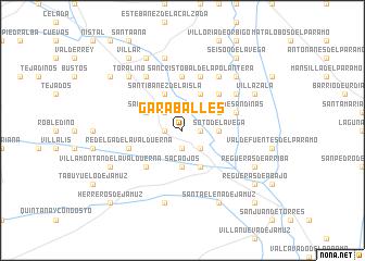map of Garaballes