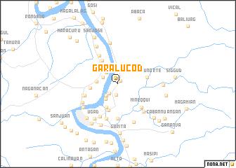 map of Garalucod