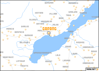map of Garang