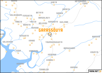 map of Garassouya