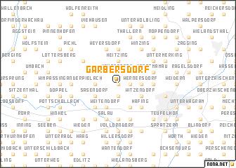 map of Garbersdorf