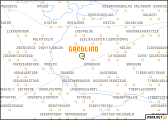 map of Gardlino