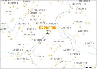 map of Gardonal