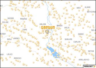 map of Gardun