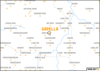 map of Garella