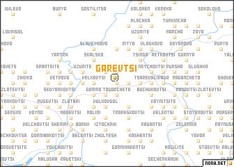 map of Garevtsi