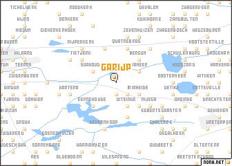 map of Garijp