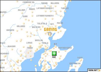 Garing Philippines Map Nona Net