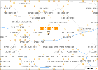 map of Garmanns