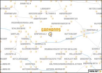 map of Garmanns