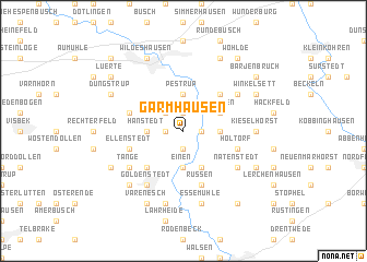 map of Garmhausen