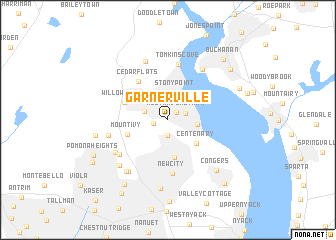 map of Garnerville