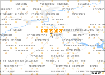 map of Garnsdorf
