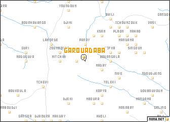 Garoua Daba Cameroon map nonanet