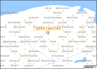 map of Garsthuizen