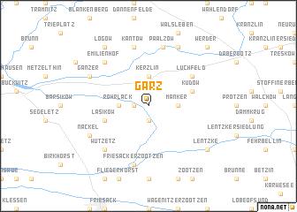 map of Garz