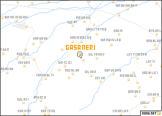 map of Gasaneri