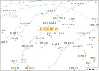 map of Gasaneri