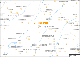map of Gashperdi