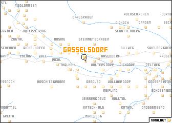 map of Gasselsdorf