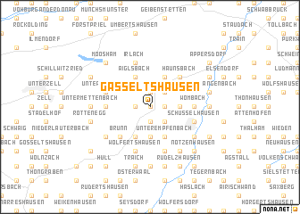 map of Gasseltshausen