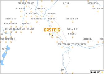 map of Gasteig
