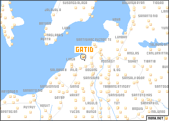 map of Gatid