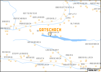 map of Gatschach