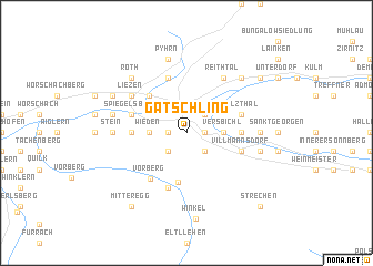 map of Gatschling