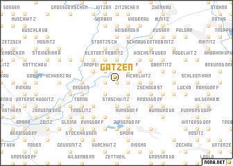 map of Gatzen