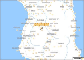 map of Gaurisan