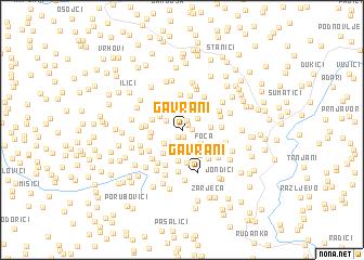 map of Gavrani