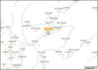 map of Gawa
