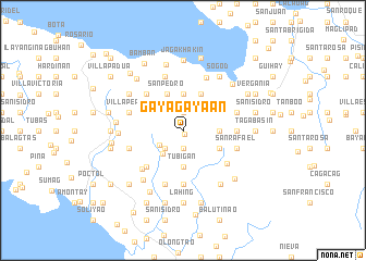 map of Gayagayaan