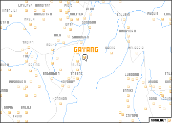 map of Gayang