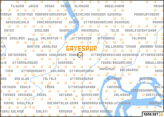 map of Gayespur