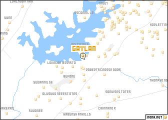map of Gay Lan