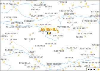 map of Geashill
