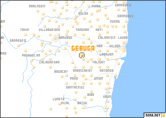 map of Gebuga